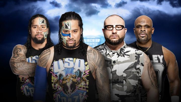 The Usos vs. The Dudley Boyz