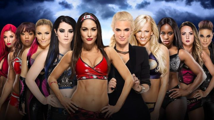 Team Total Divas vs. Team B.A.D. and Blonde