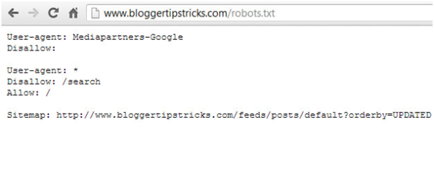 How To Add Custom Robots.txt File in Blogger Blogspot?